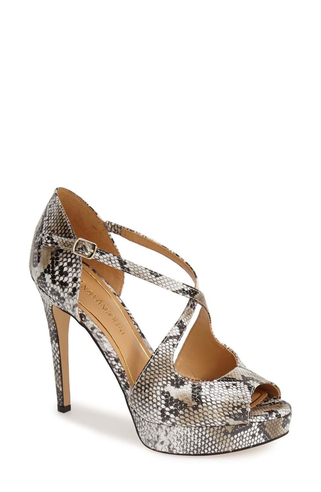 Alternate Image 1 Selected - Enzo Angiolini 'Abalina' Platform Pump (Women)