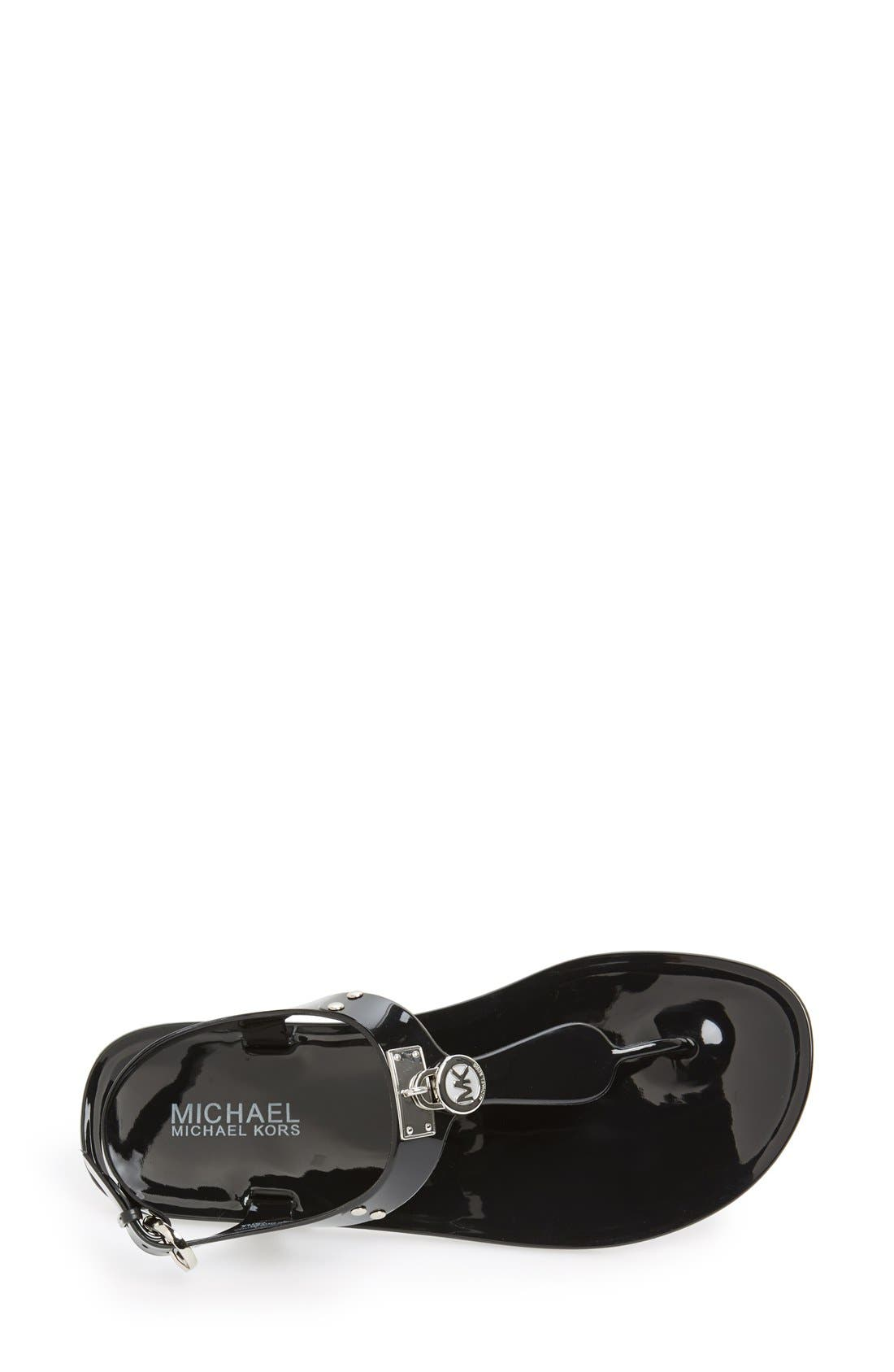Alternate Image 2  - MICHAEL Michael Kors 'Hamilton' Jelly Sandal (Women)