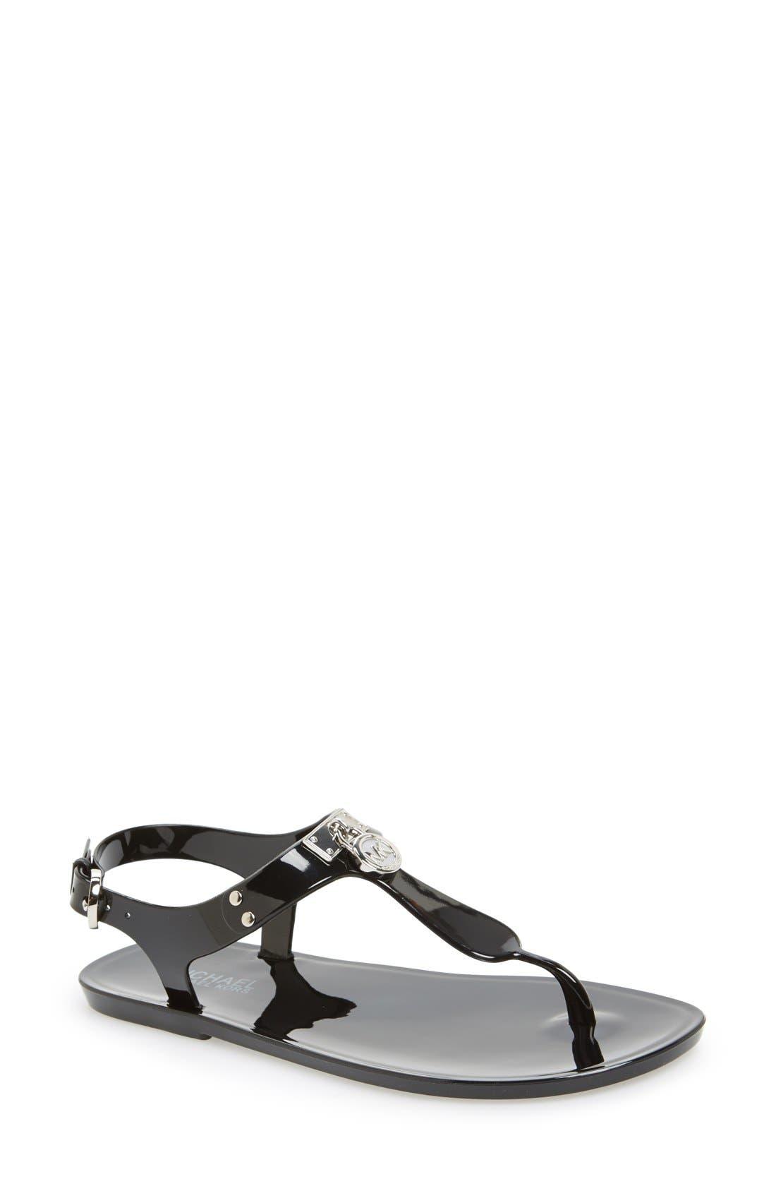 Main Image - MICHAEL Michael Kors 'Hamilton' Jelly Sandal (Women)