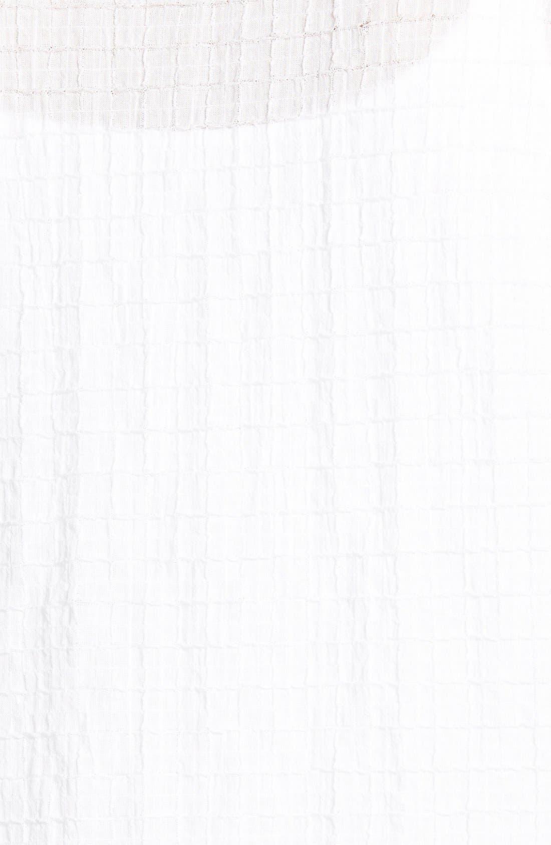 Alternate Image 3  - Eileen Fisher Bateau Neck Shirt (Regular & Petite)