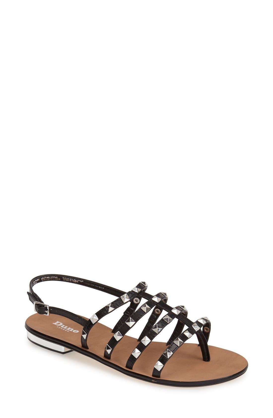 Alternate Image 1 Selected - Dune London 'Katrine' Studded Sandal (Women)