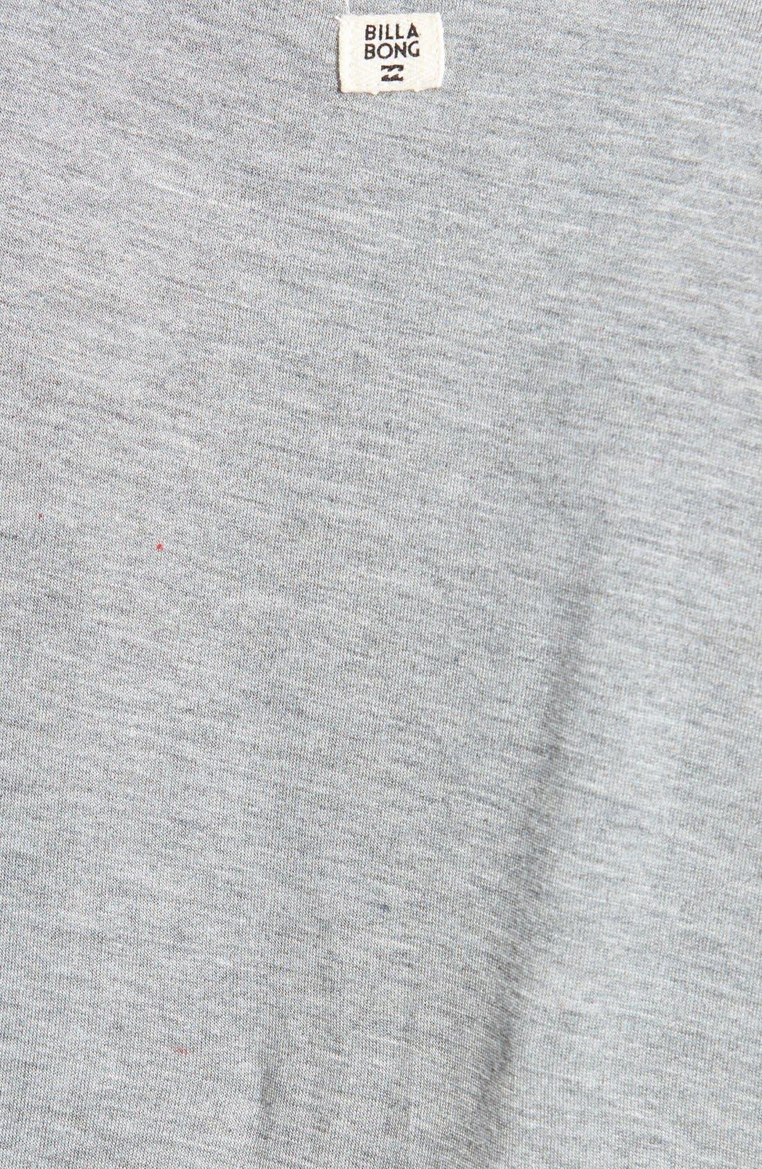 Alternate Image 3  - Billabong 'Last Minute' T-Shirt Dress
