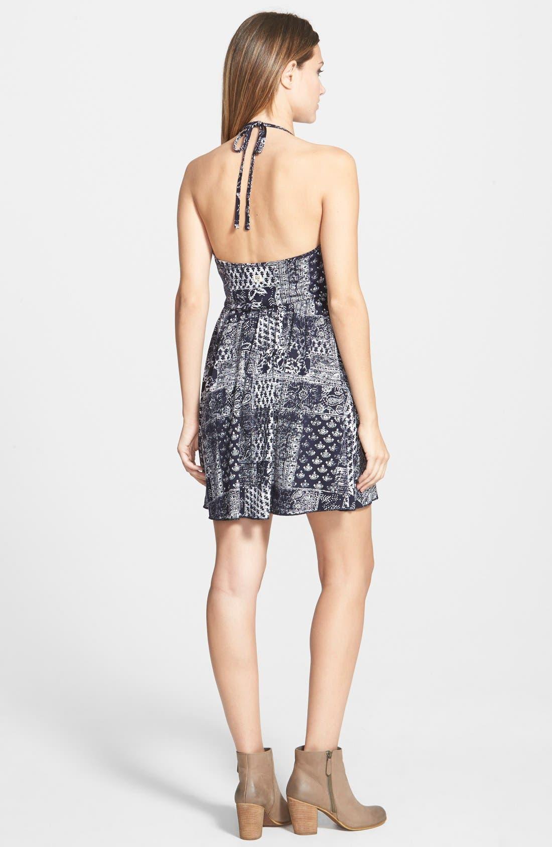 Alternate Image 2  - Billabong 'You're Invited' Halter Dress