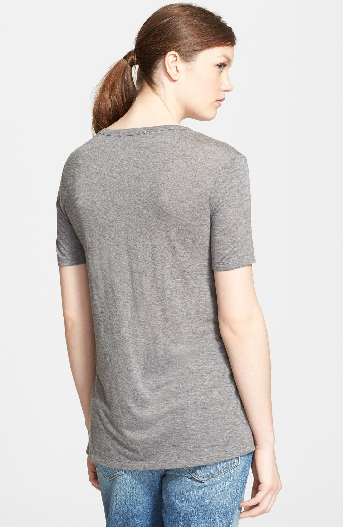 Alternate Image 2  - T by Alexander Wang Pocket Tee