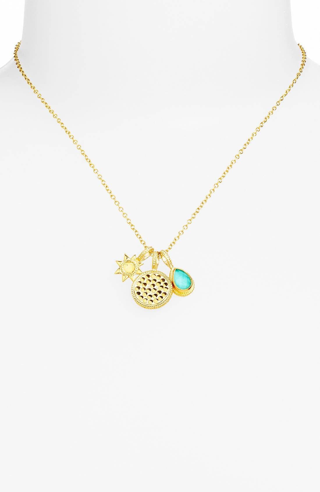 Alternate Image 2  - Anna Beck 'Gili' Boxed Cluster Pendant Necklace
