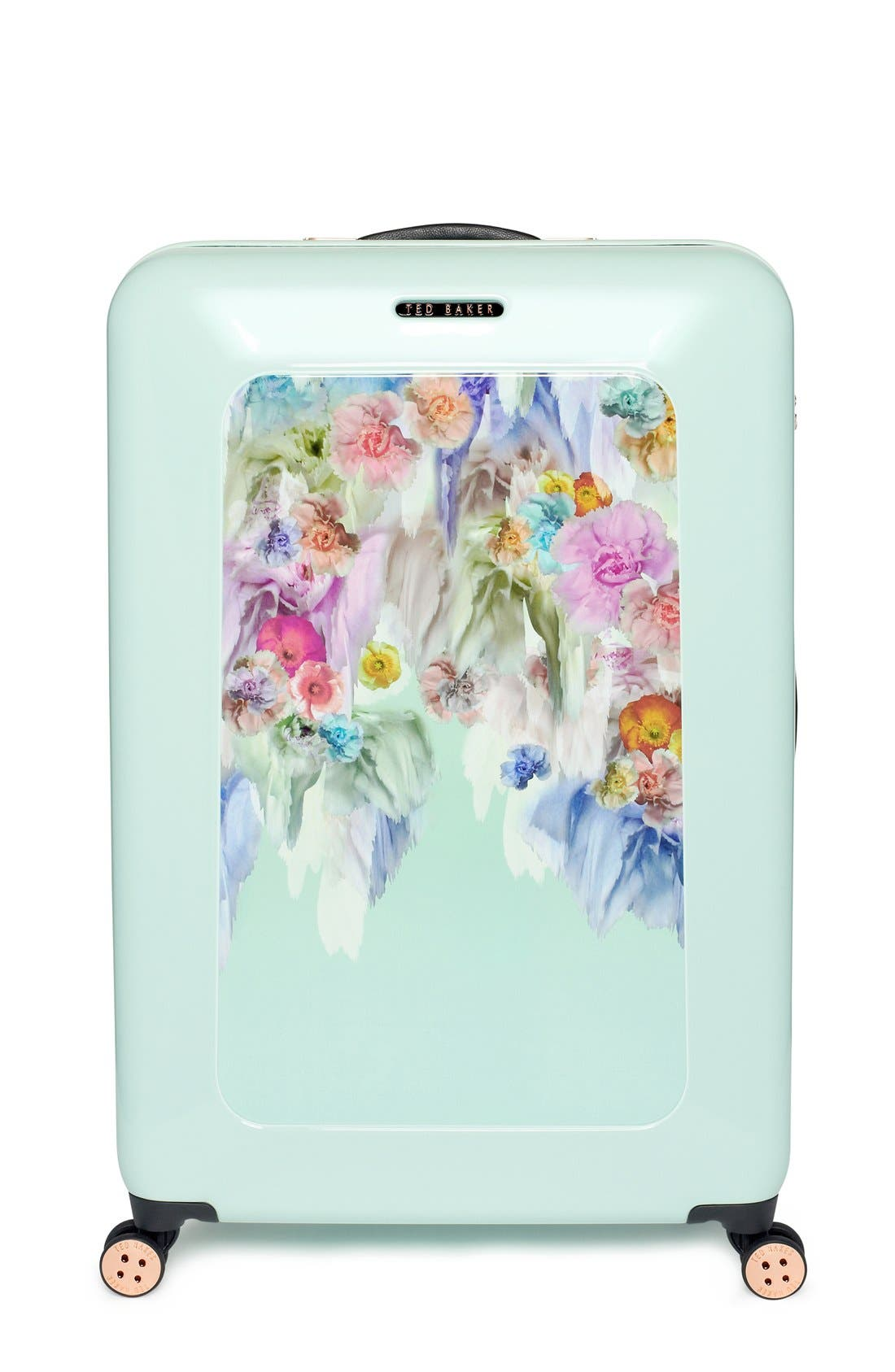 Alternate Image 2  - Ted Baker London 'Large Sugar Sweet Florals' Hard Shell Suitcase (32 Inch)