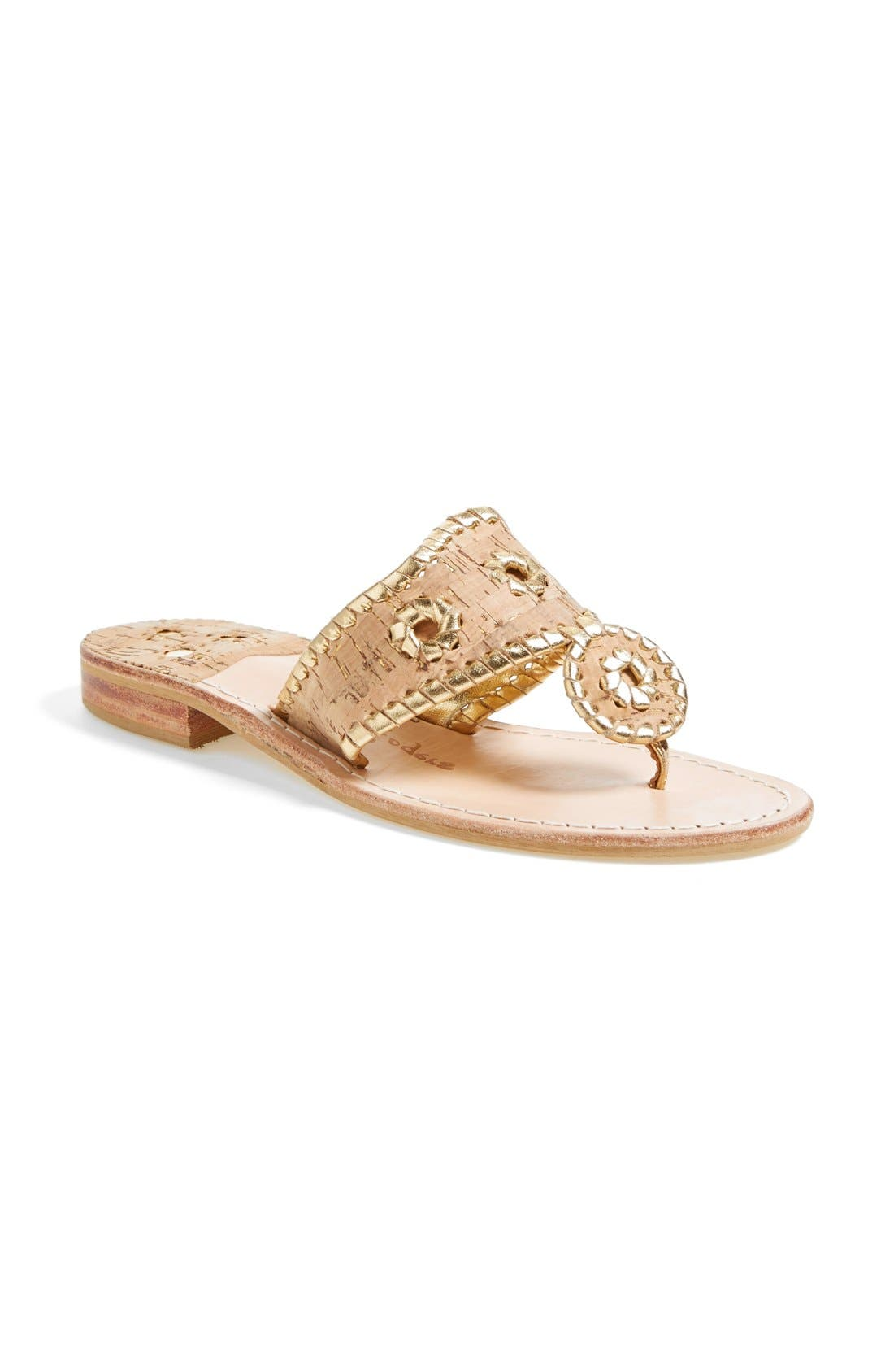 Alternate Image 2  - Jack Rogers Whipstitched Flip Flop (Women)
