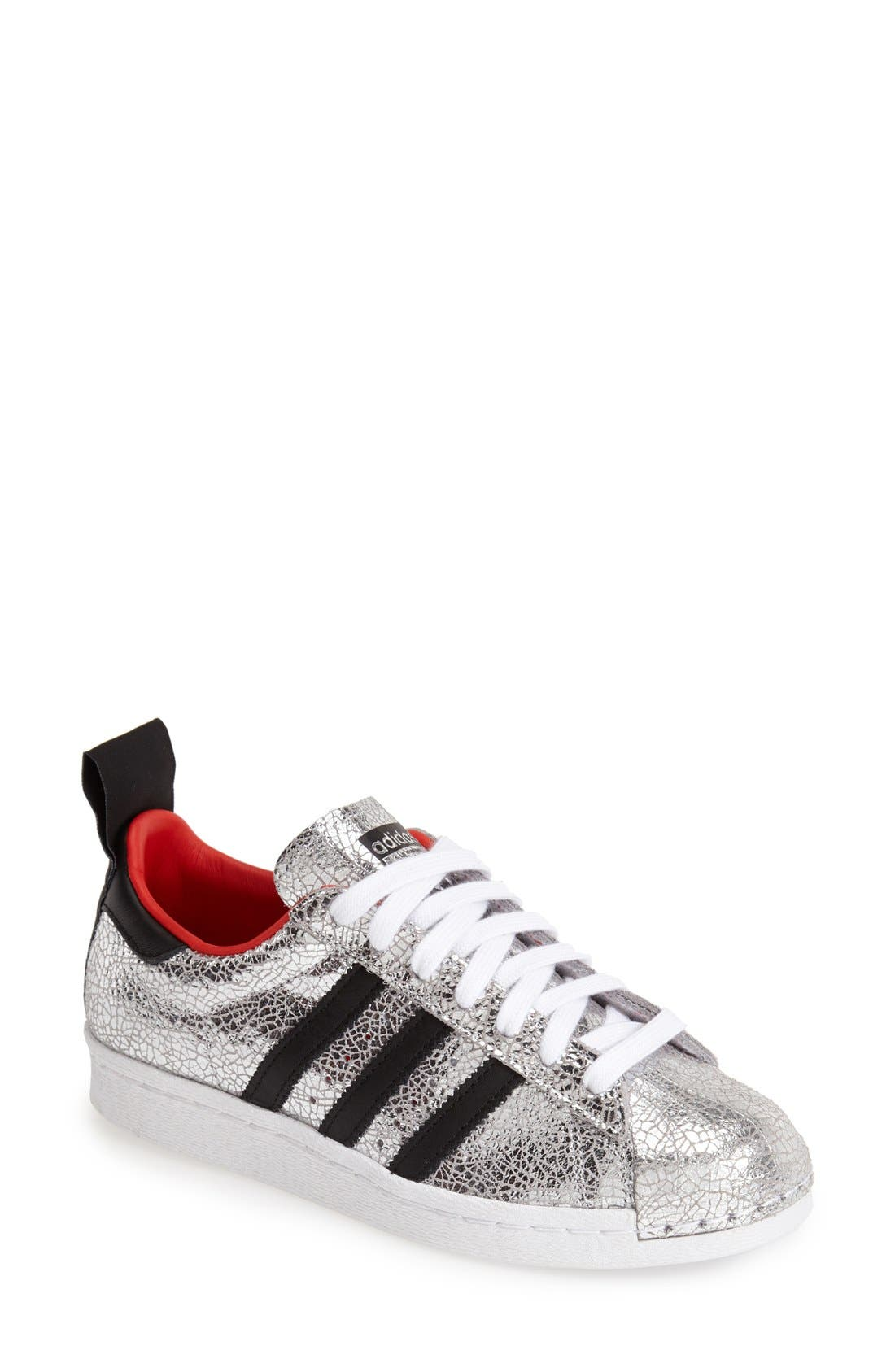 Main Image - Topshop for adidas Originals '80s Premium Superstar' Sneaker (Women)