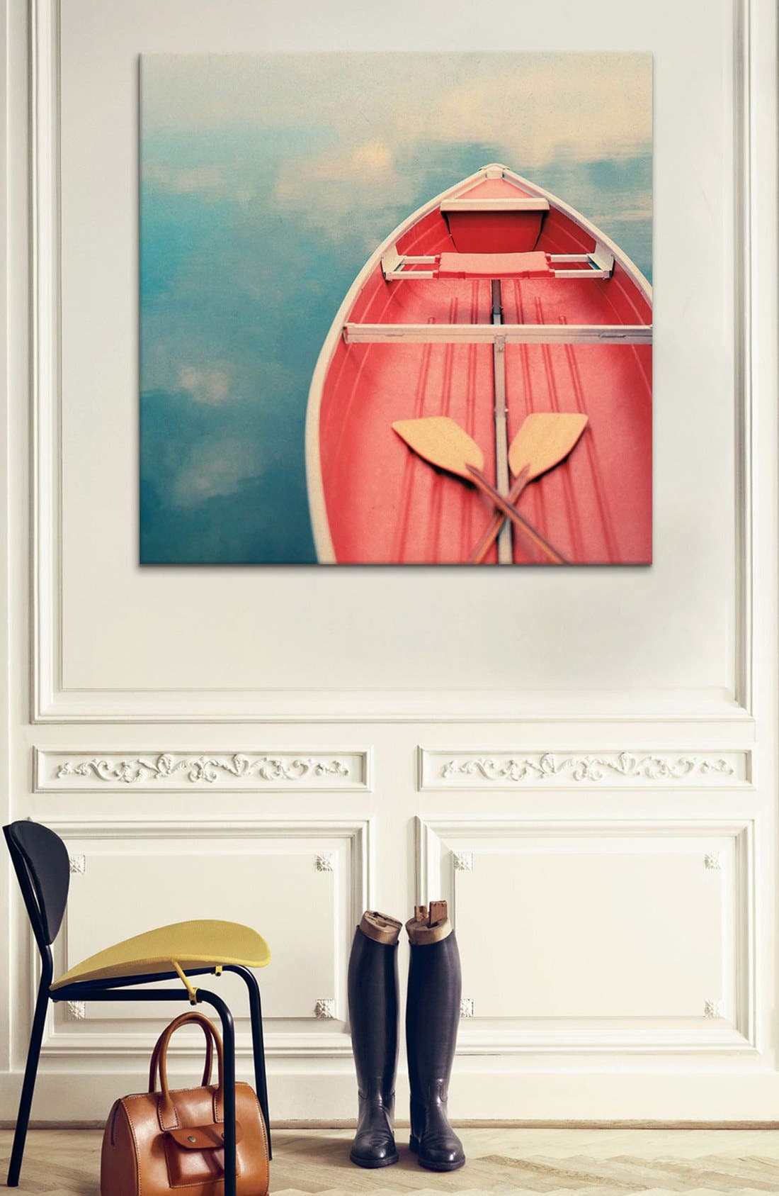 Alternate Image 2  - iCanvas 'Floating on a Cloud - Alicia Bock' Giclée Print Canvas Art