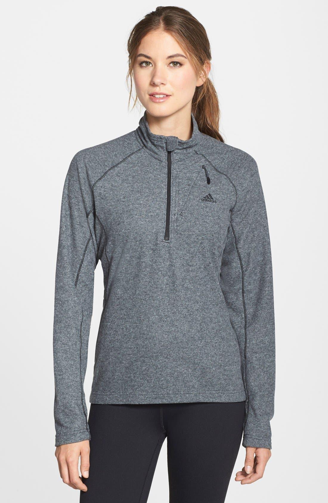 adidas 'Reachout' Half Zip Hiking Top