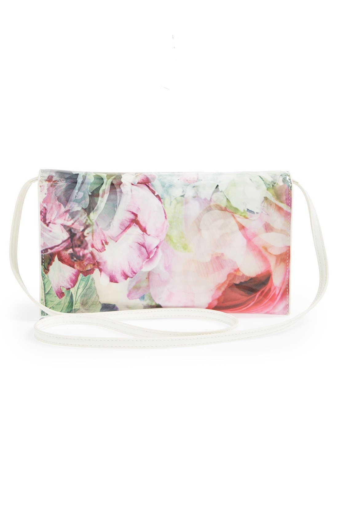 Alternate Image 3  - Ted Baker London 'Peony' Crosshatch Clutch