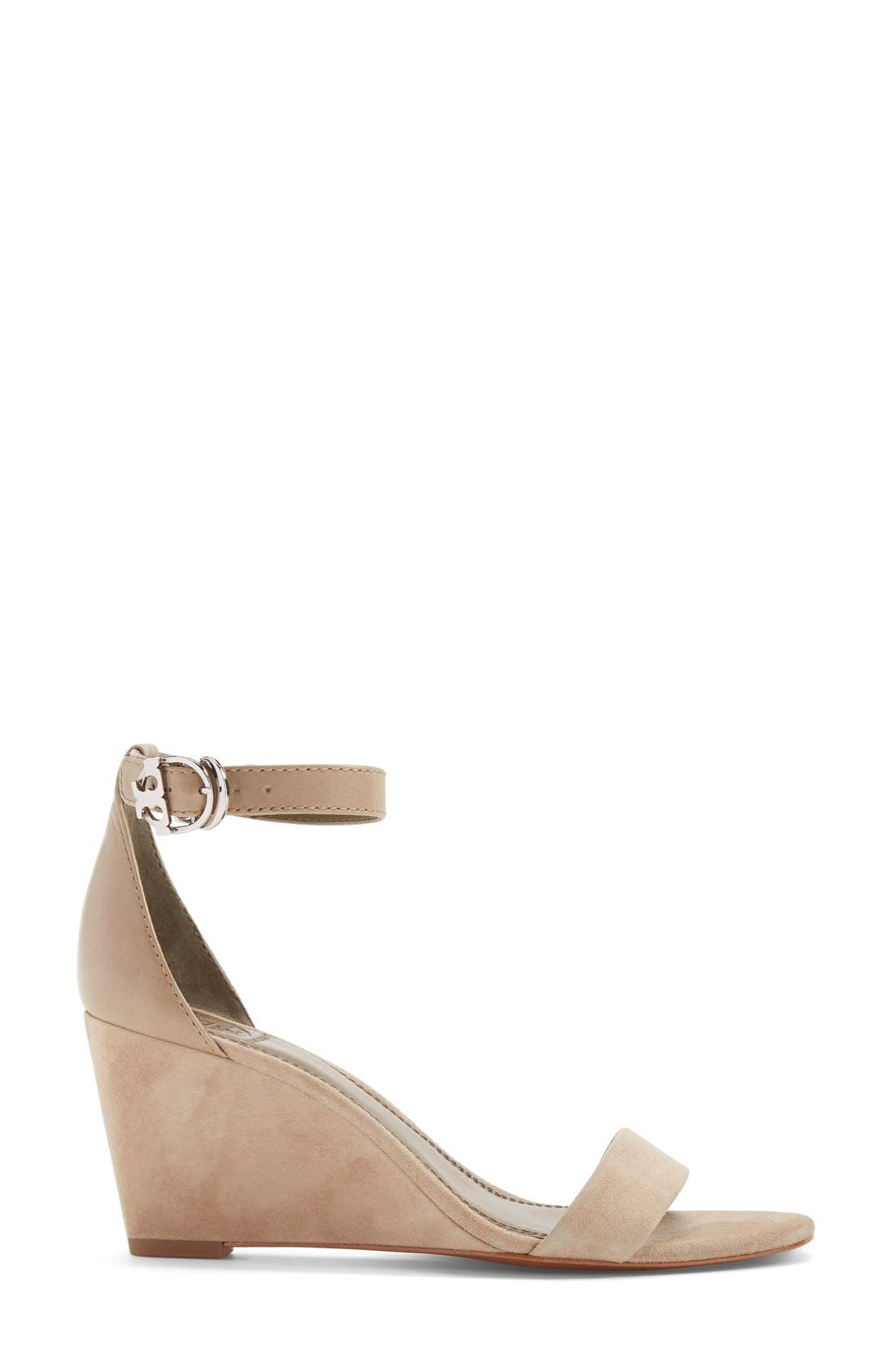 Alternate Image 4  - Tory Burch 'Thames' Ankle Strap Wedge Sandal (Women)