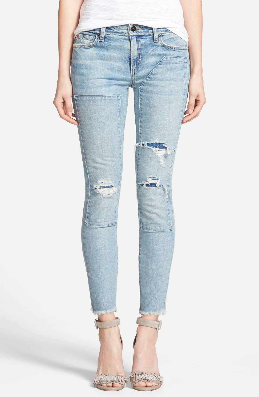 Main Image - Joe's 'Collector's - Repaired Finn' Ankle Jeans