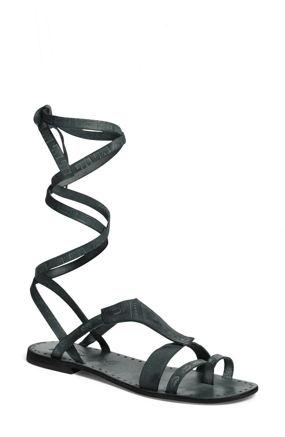 Alternate Image 1 Selected - Free People 'Oliviera' Gladiator Sandal (Women)