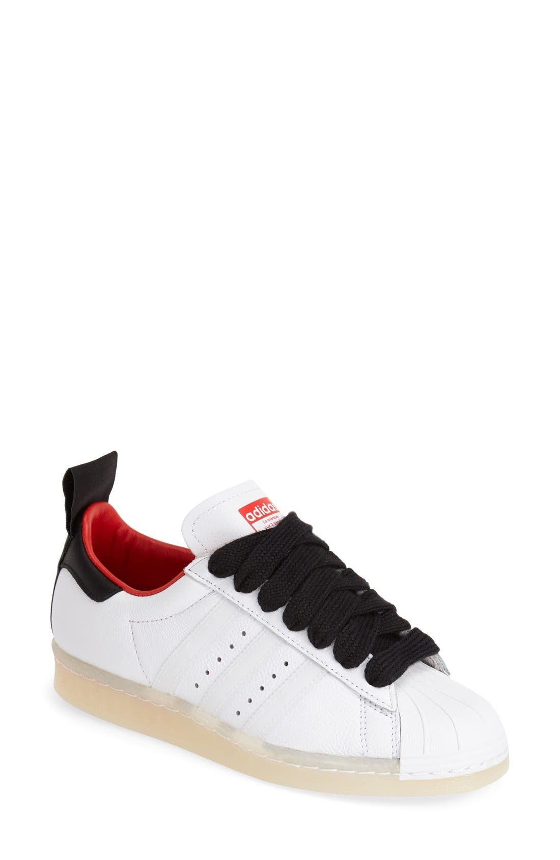Alternate Image 1 Selected - Topshop for adidas Originals 'Superstar 80s' Leather Sneaker (Women)