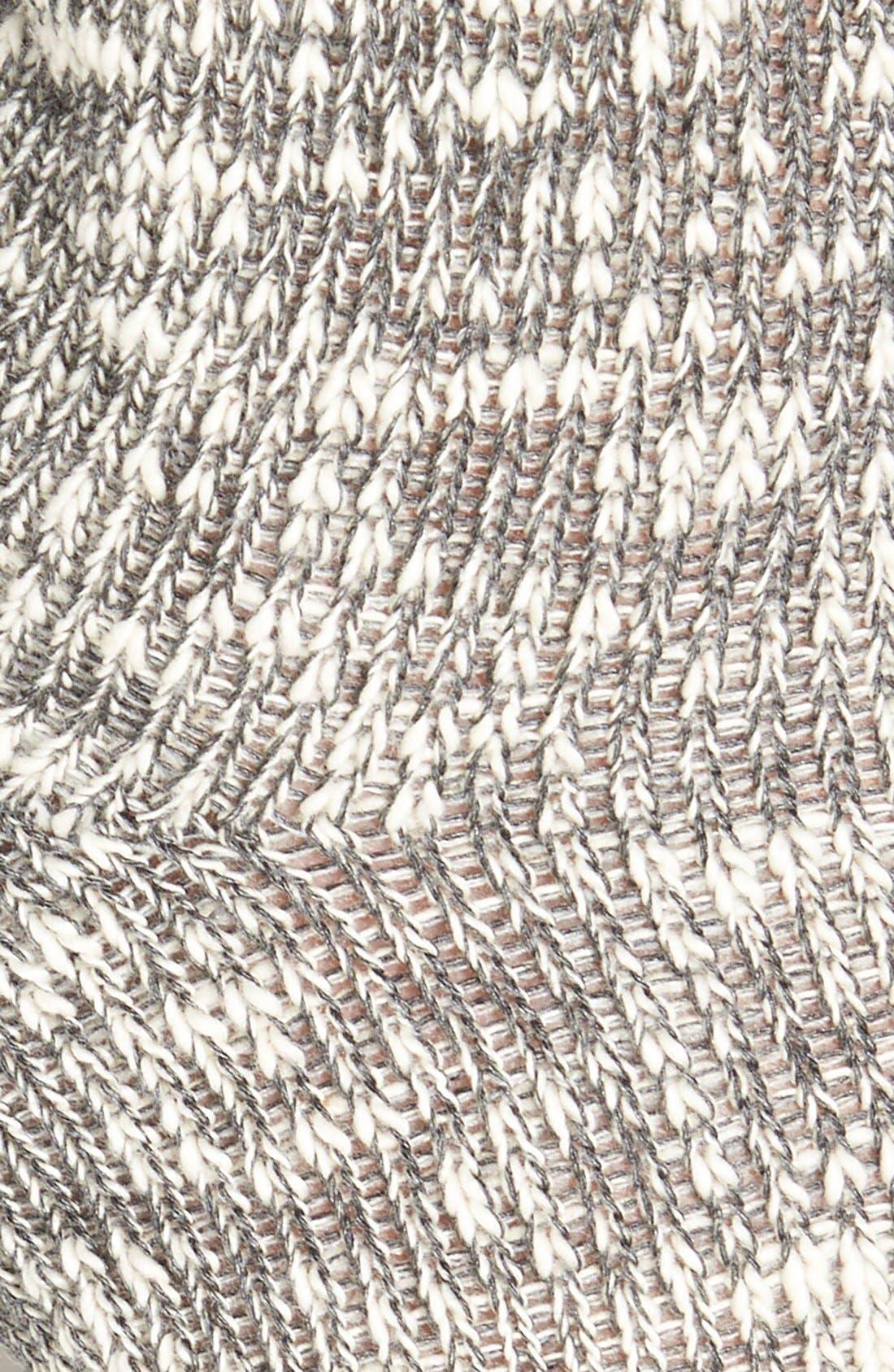 Alternate Image 2  - Nordstrom Slub Knit Over the Knee Socks
