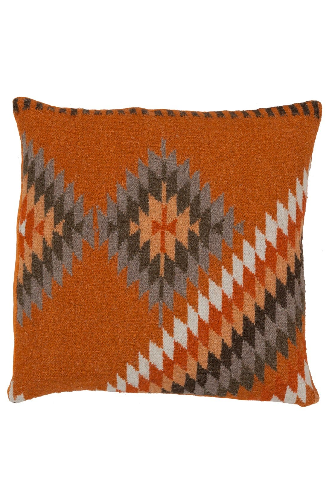 Main Image - Surya Home 'Kilim' Wool Accent Pillow