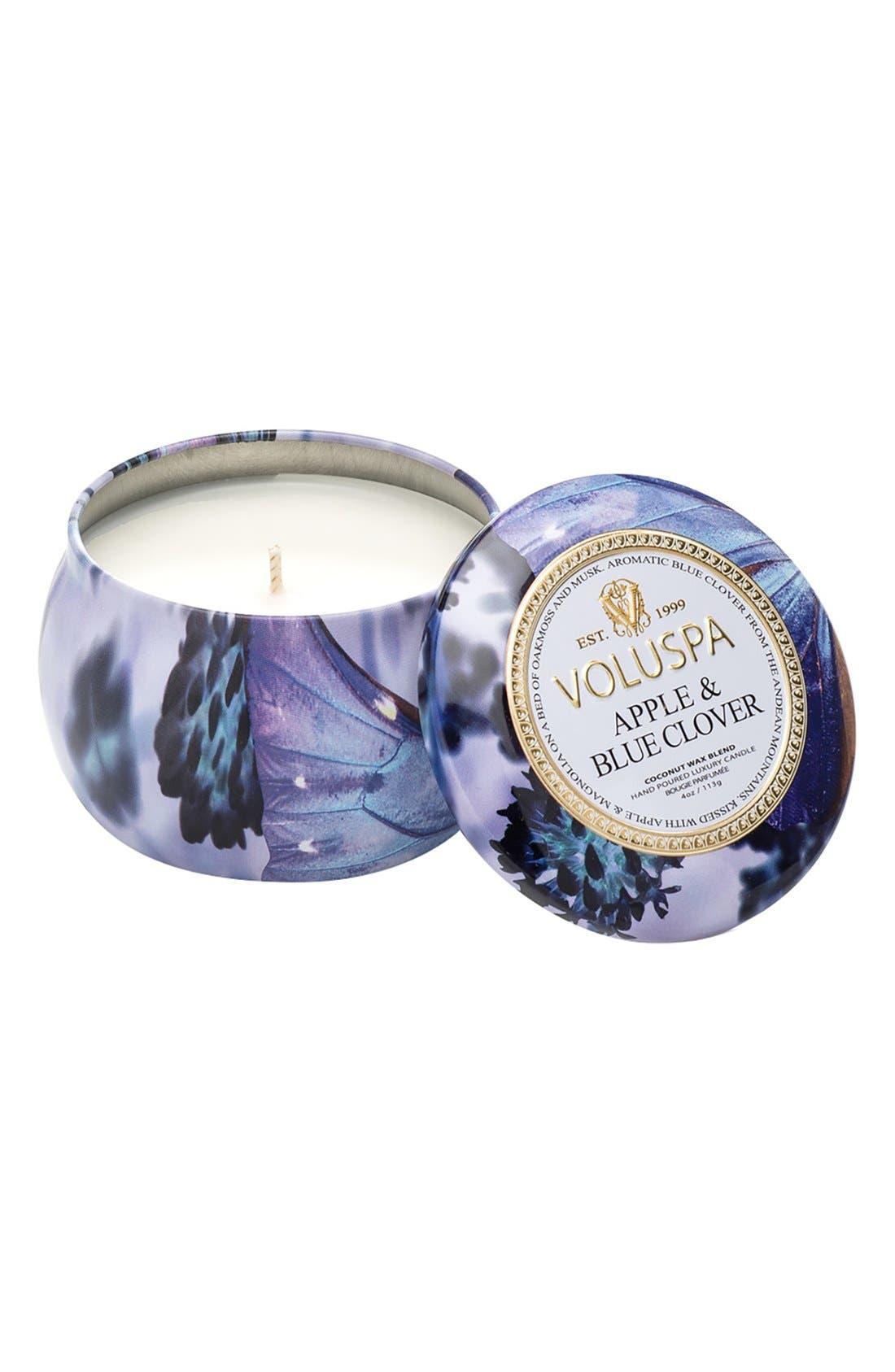 Alternate Image 1 Selected - Voluspa 'Maison Jardin' Mini Decorative Tin Candle