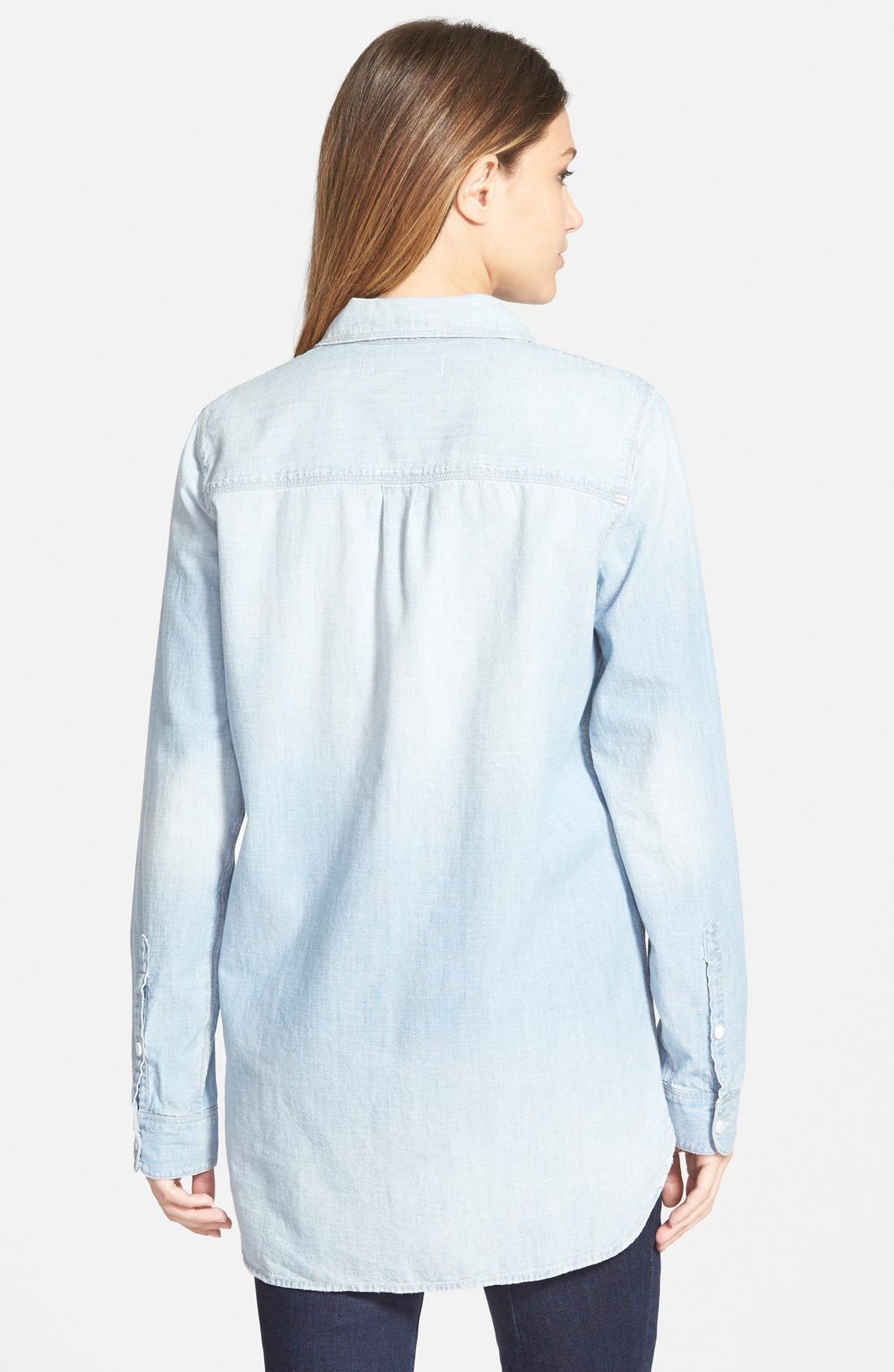 Alternate Image 3  - Madewell Ex-Boyfriend Chambray Shirt