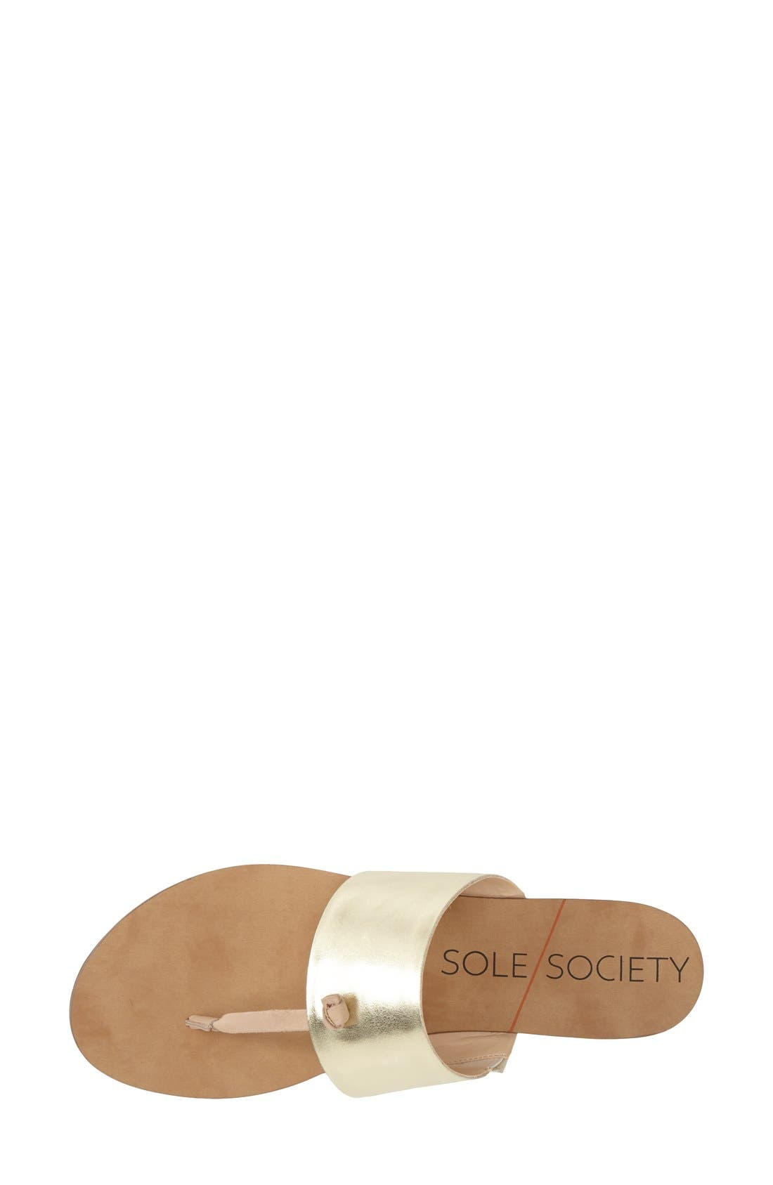 Alternate Image 3  - Sole Society 'Sarena' Thong Sandal (Women)