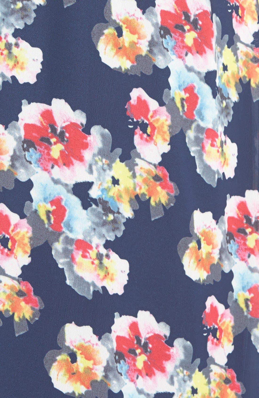 Alternate Image 4  - Lucy Paris 'Bonnie' Floral Maxi Dress