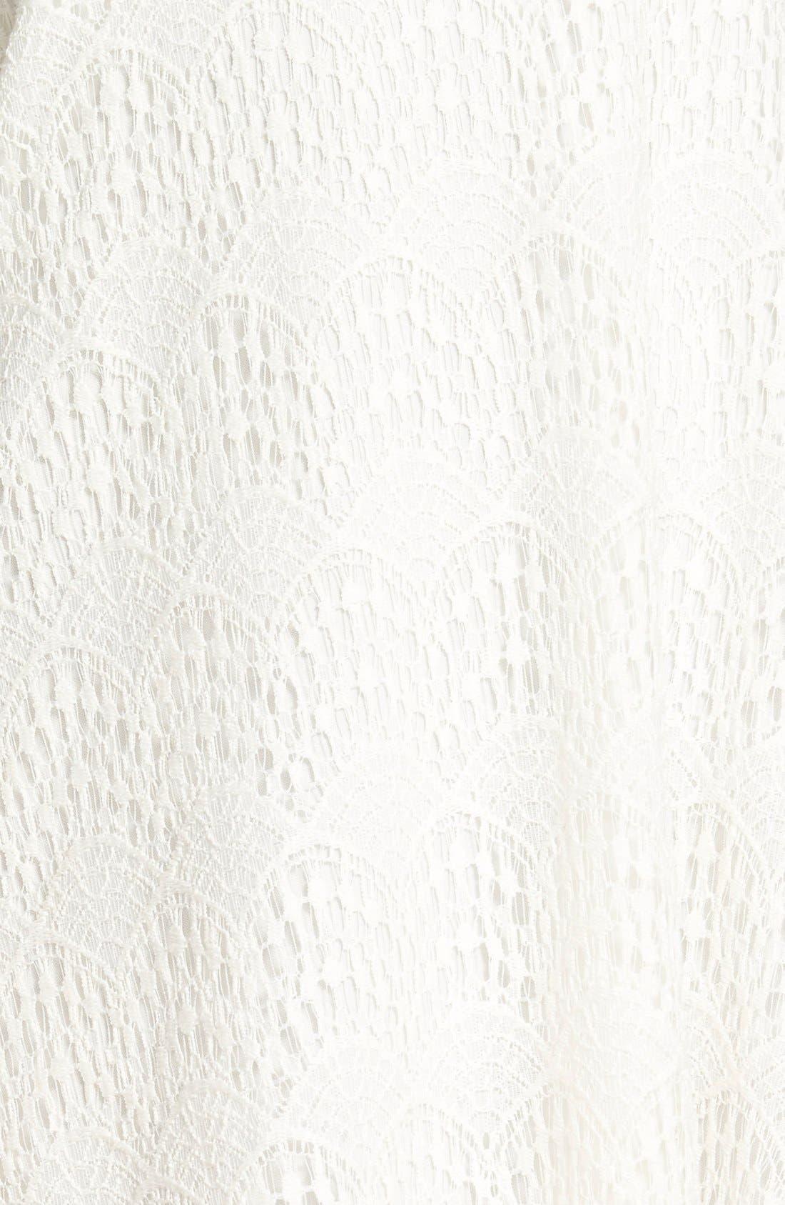 Alternate Image 3  - dee elle Lace Cold Shoulder Dress