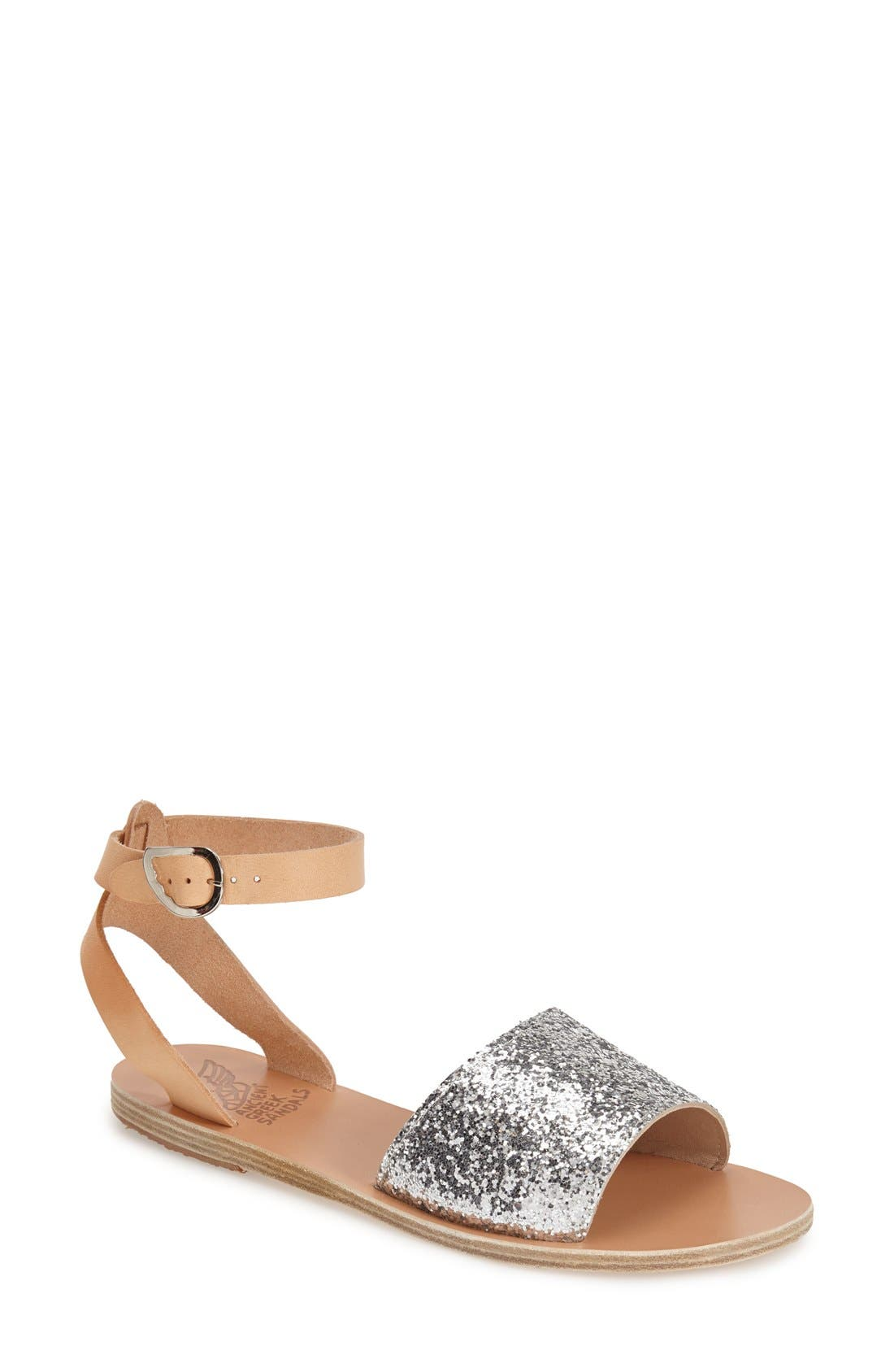Alternate Image 1 Selected - Ancient Greek Sandals 'Thalpori' Leather Ankle Strap Sandal (Women)