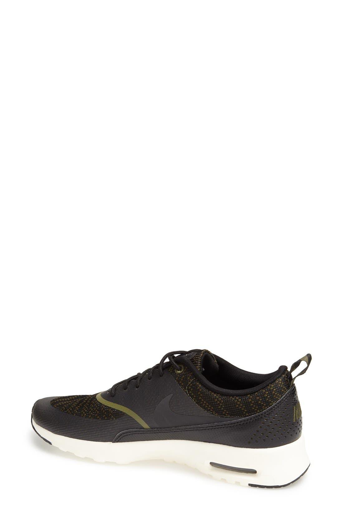 Alternate Image 2  - Nike 'Air Max Thea Jacquard' Sneaker (Women)