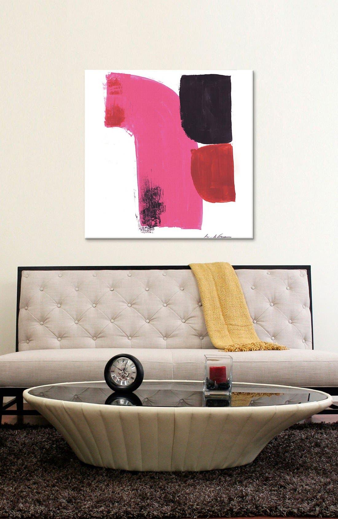 Alternate Image 2  - iCanvas 'Good Combination' Giclée Print Canvas Art