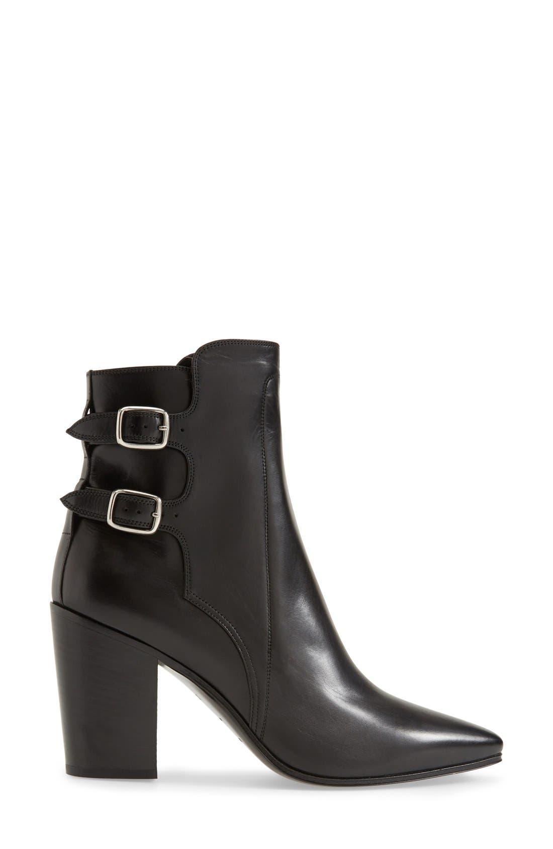 Alternate Image 4  - Saint Laurent Pointy Toe Ankle Boot (Women)