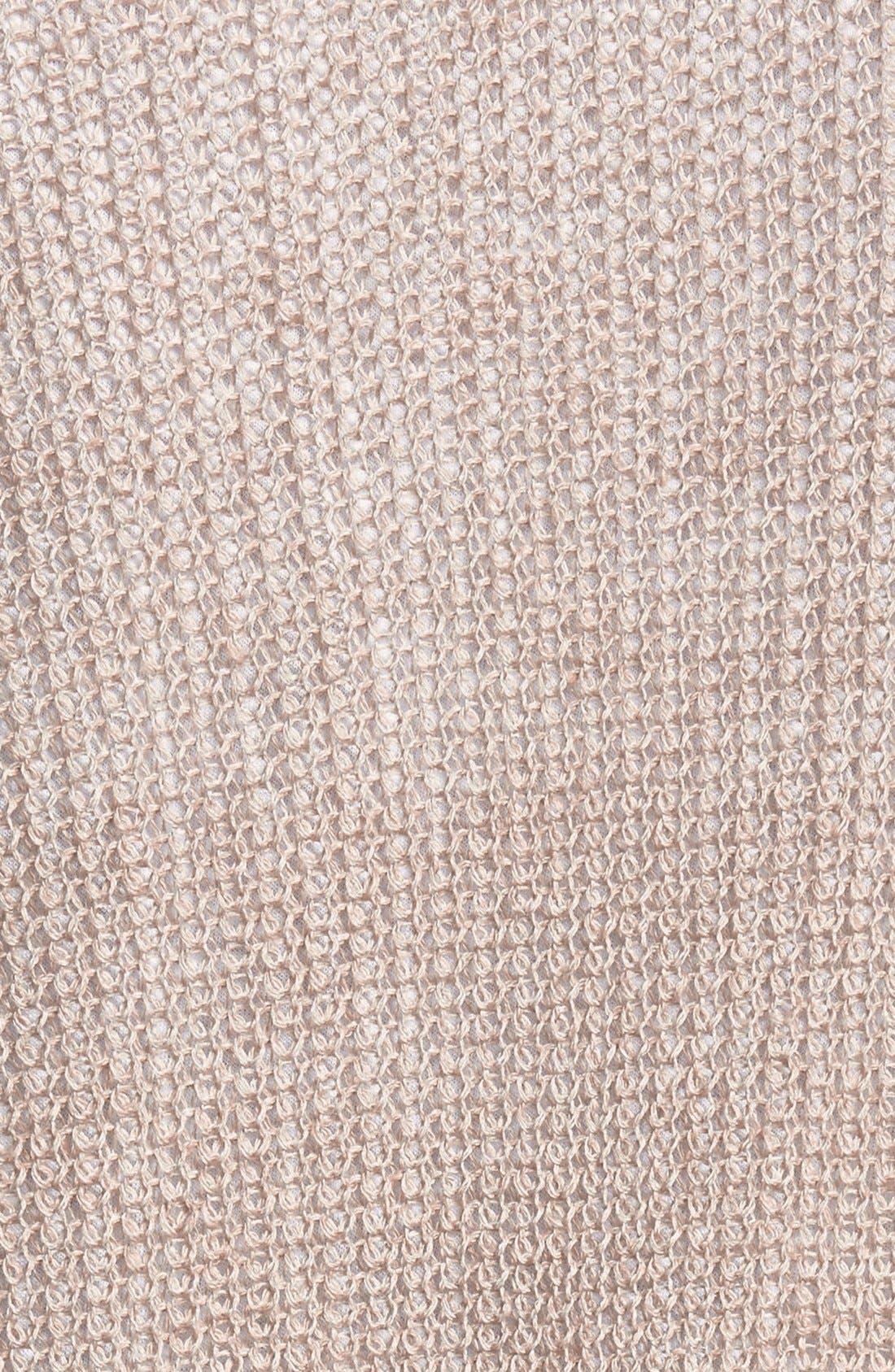 Alternate Image 3  - Halogen® Raglan Sleeve Long Cardigan (Regular & Petite)