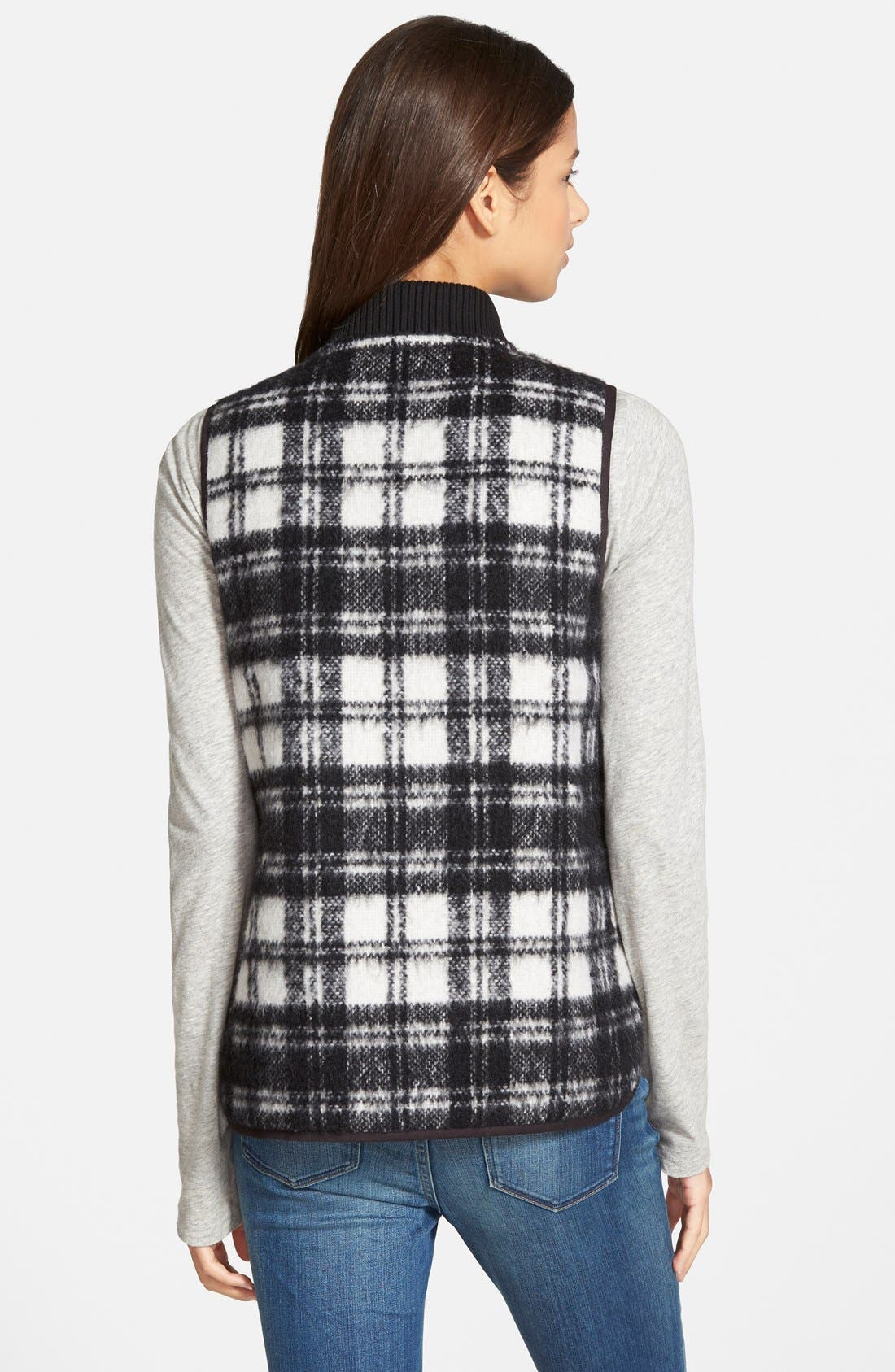 Alternate Image 3  - Madewell'Copeland Plaid' Reversible Vest