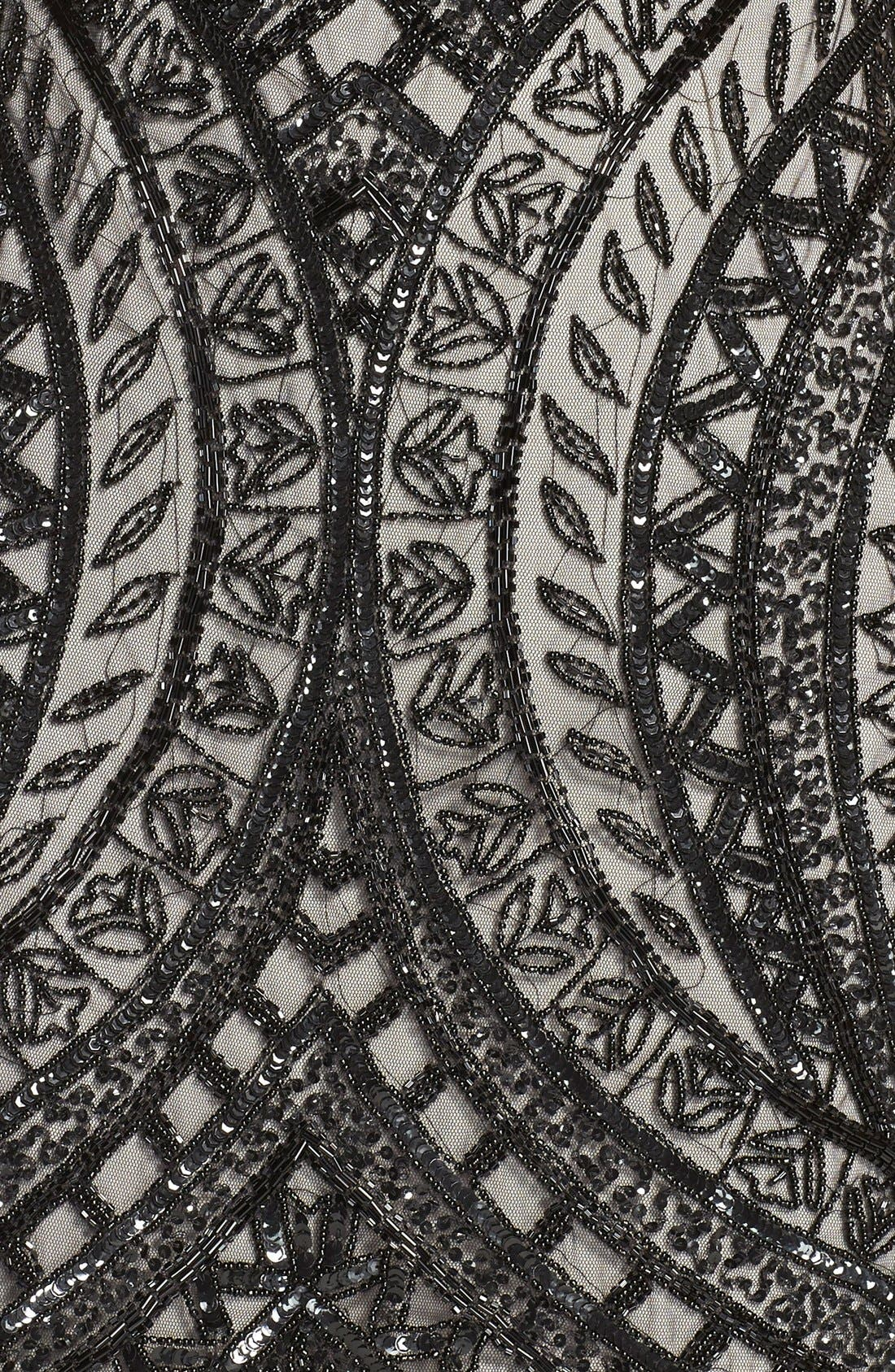 Alternate Image 4  - Adrianna Papell Beaded Sheath Dress