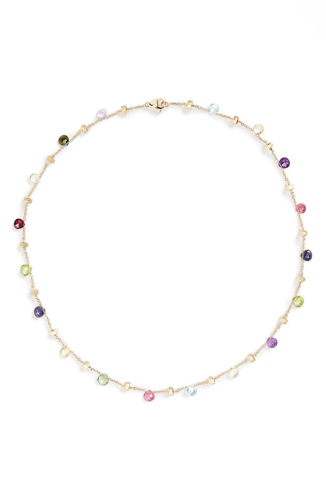 Alternate Image 3  - Marco Bicego 'Paradise' Single Strand Semiprecious Necklace