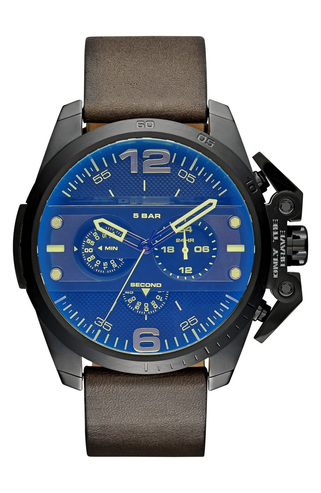 Alternate Image 1 Selected - DIESEL® 'Ironside' Chronograph Watch, 48mm