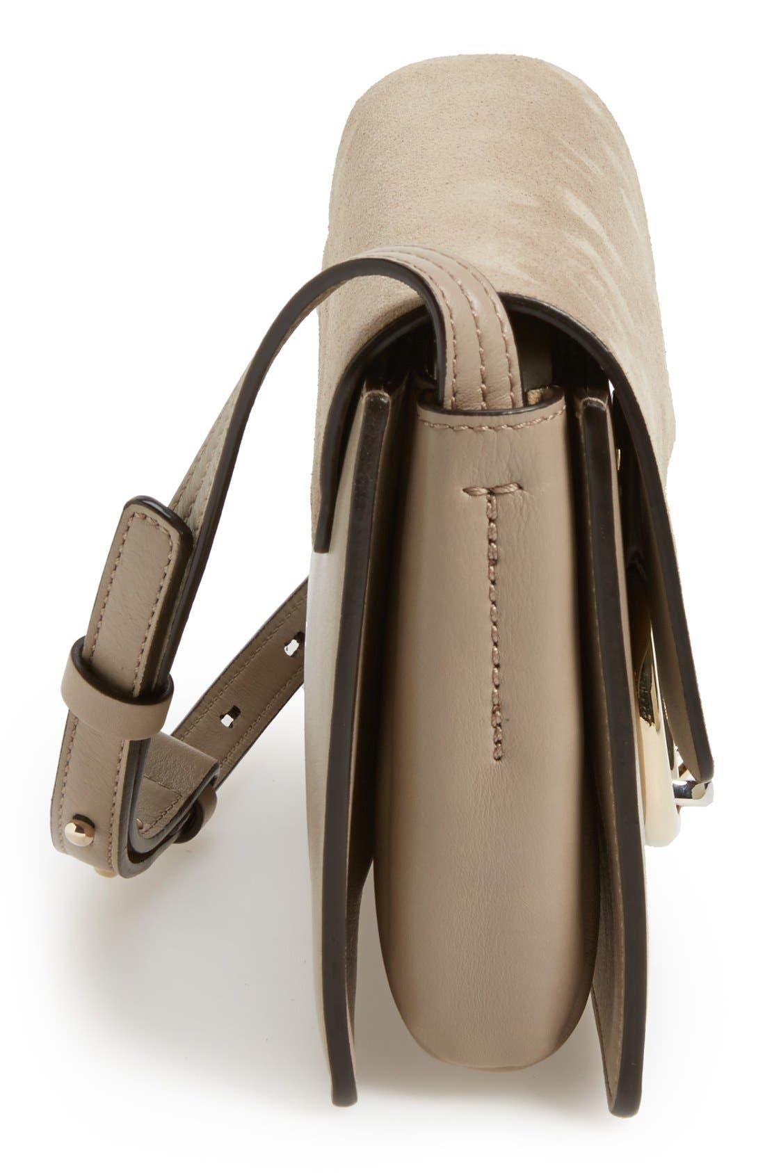 Alternate Image 5  - Chloé Small Faye Leather Shoulder Bag