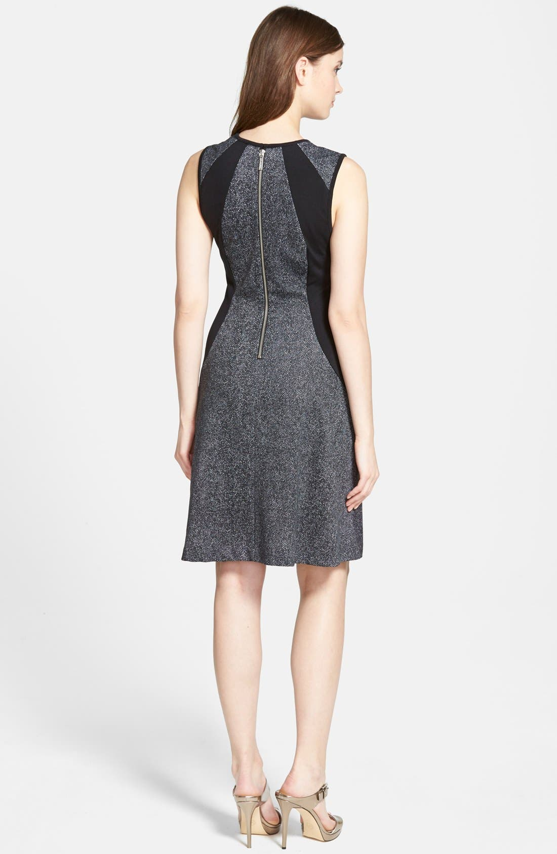 Alternate Image 2  - MICHAEL Michael Kors 'Lansdown' Print Sleeveless Panel  Dress