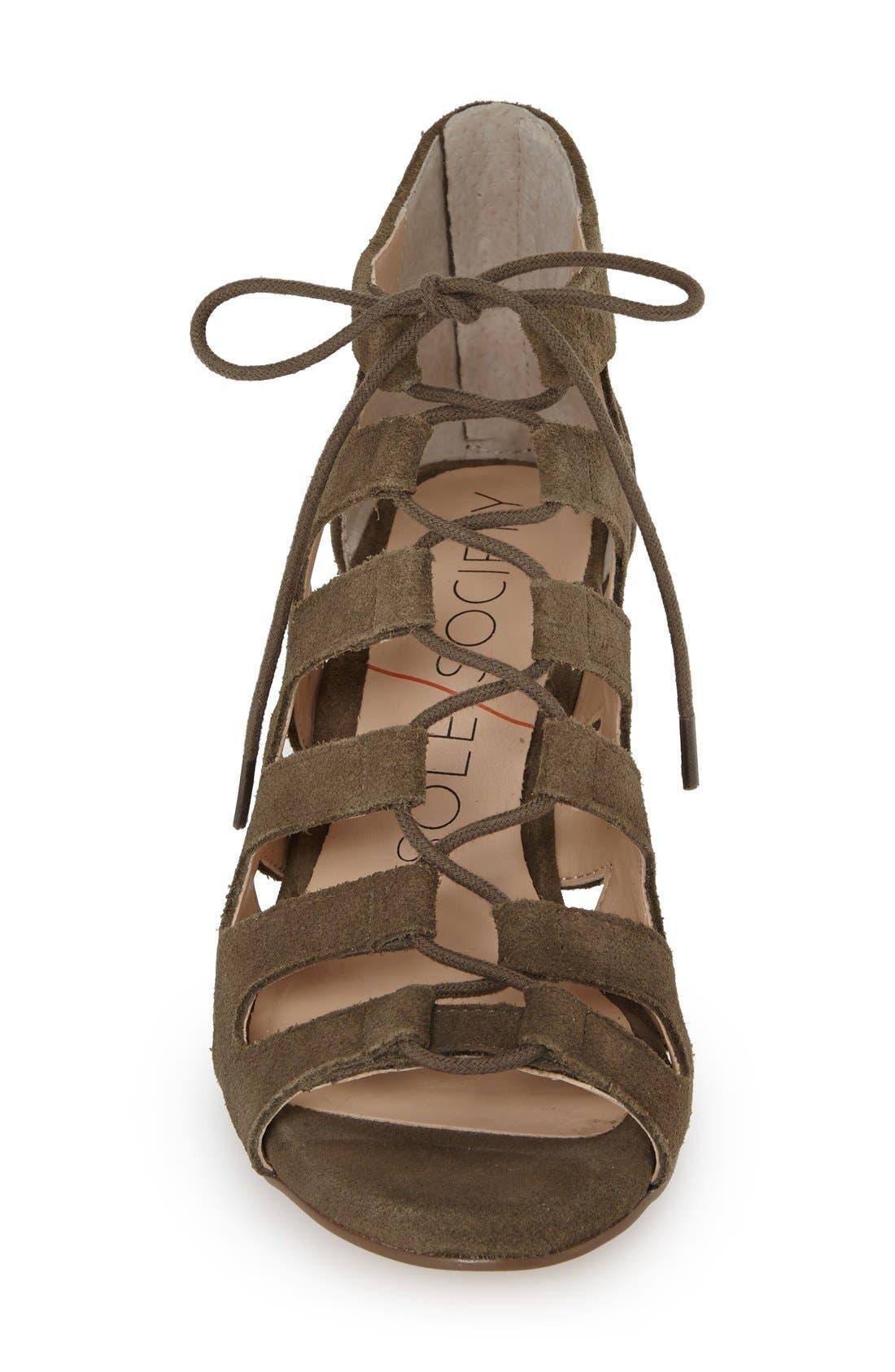 Alternate Image 3  - Sole Society 'Freyaa' Wedge Sandal (Women)