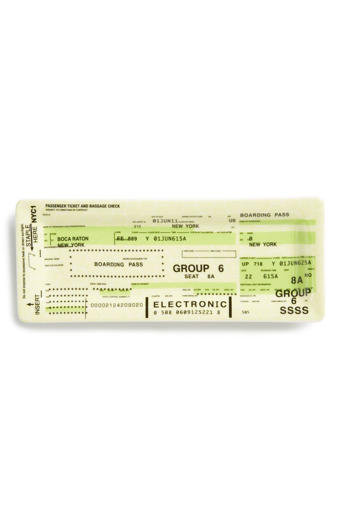 Alternate Image 1 Selected - Fishs Eddy Airline Ticket Tray