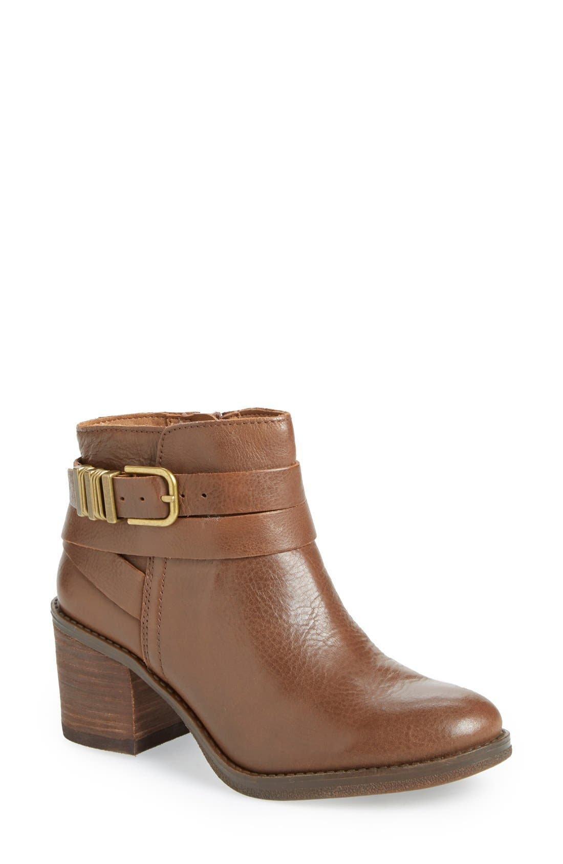Alternate Image 1 Selected - Lucky Brand 'Raisa' Moto Bootie (Women)