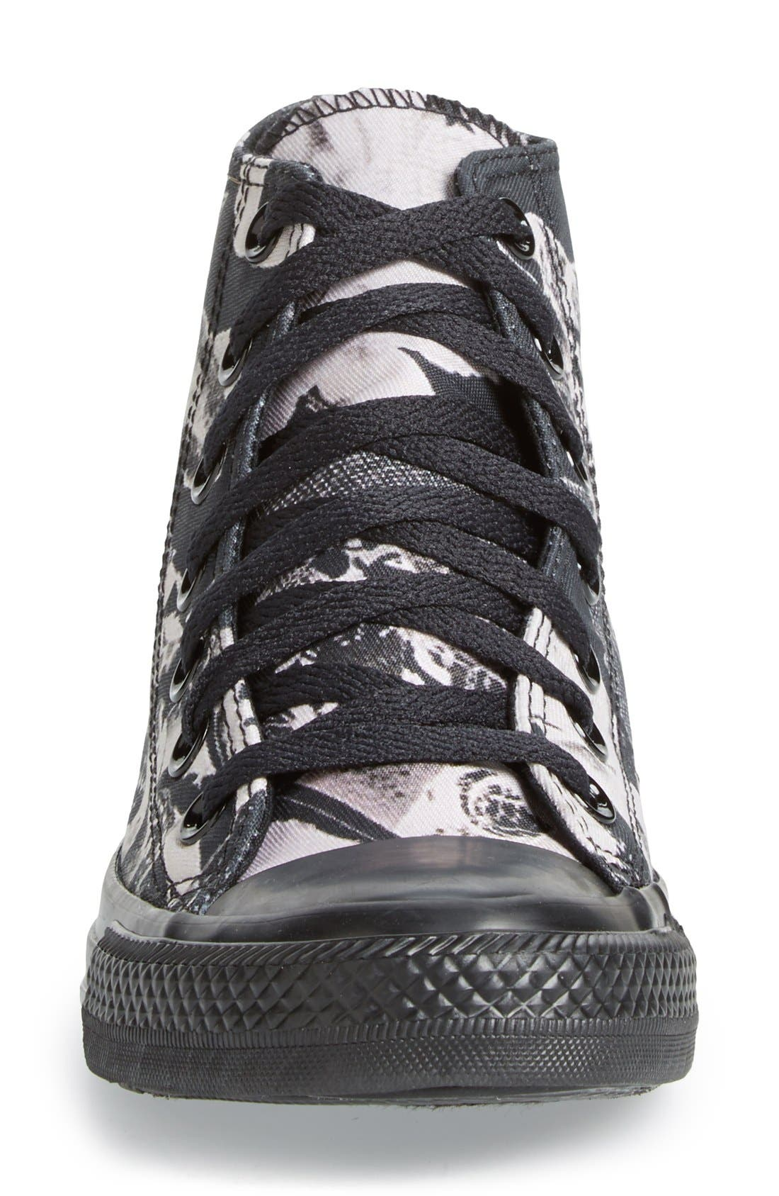 Alternate Image 3  - Converse Chuck Taylor® All Star® Print High Top Sneaker (Women)
