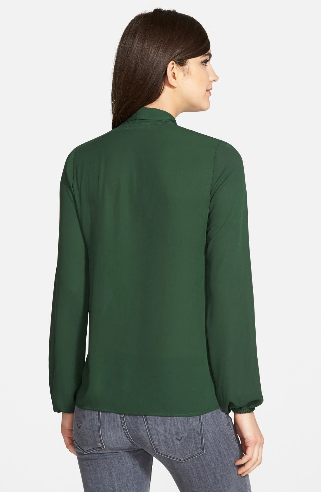 Alternate Image 2  - Bailey 44 Long Sleeve Tie Neck Blouse (Nordstrom Exclusive)