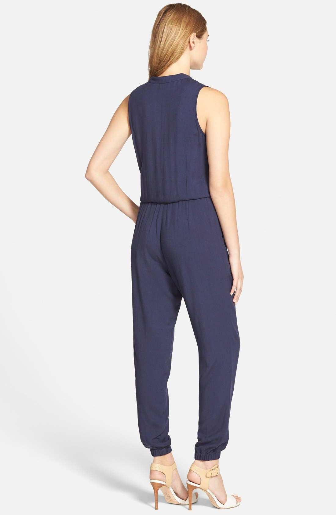 Alternate Image 2  - cupcakes and cashmere 'Roxbury' Jumpsuit (Nordstrom Exclusive)