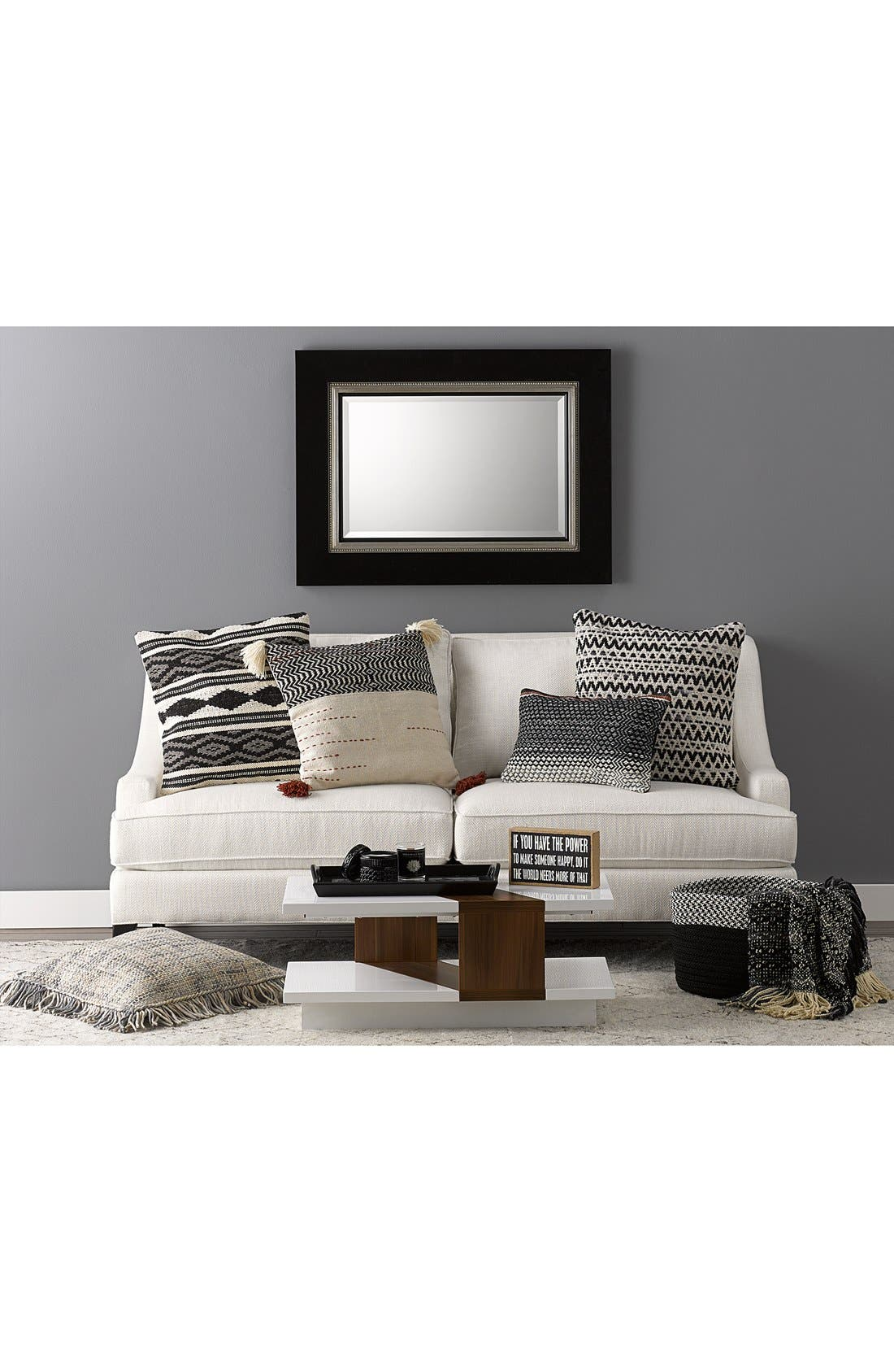 Alternate Image 2  - Loloi Woven Cotton & Wool Accent Pillow