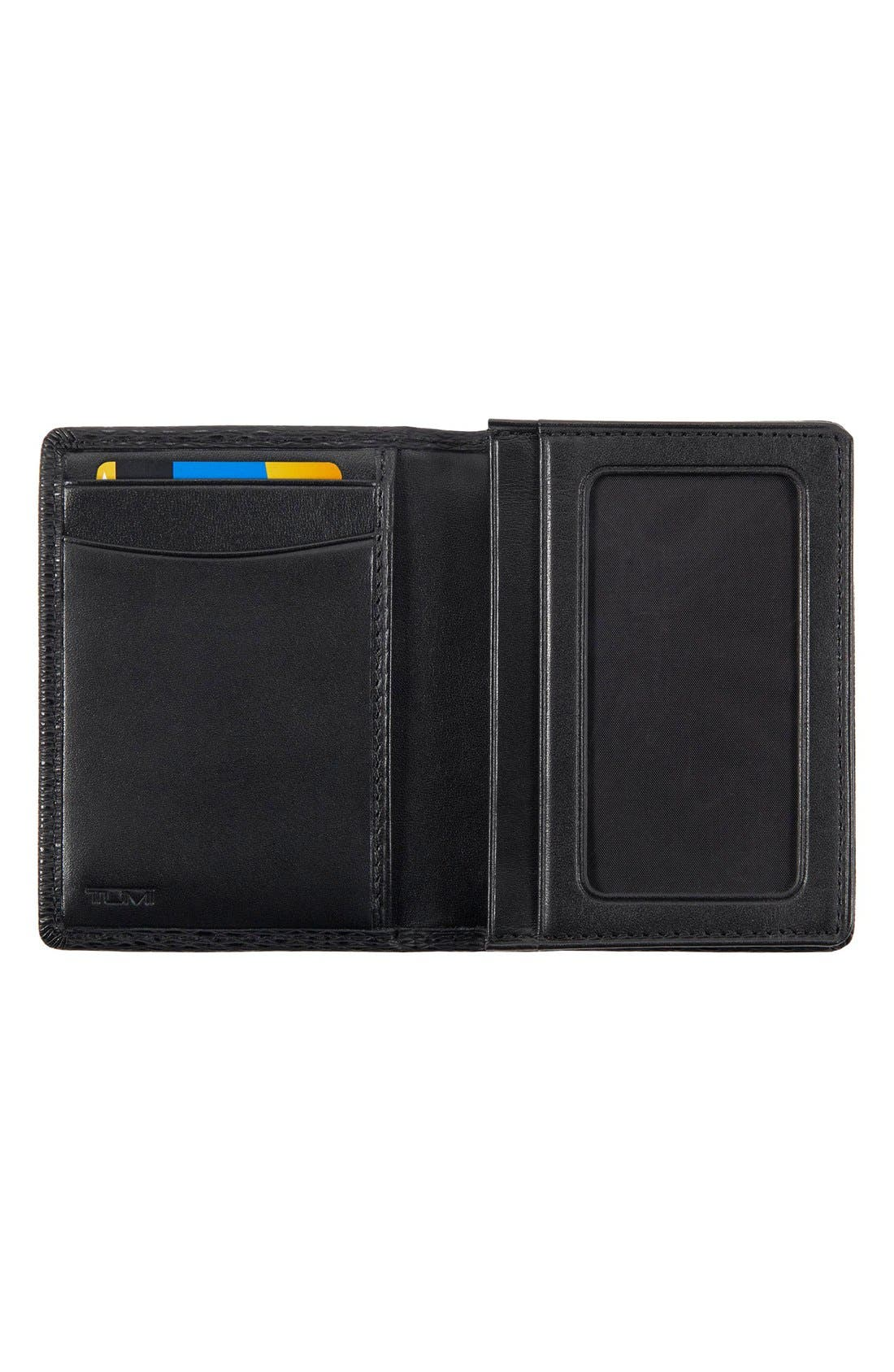 Alternate Image 2  - Tumi 'Monaco' Gusseted Leather Card Case