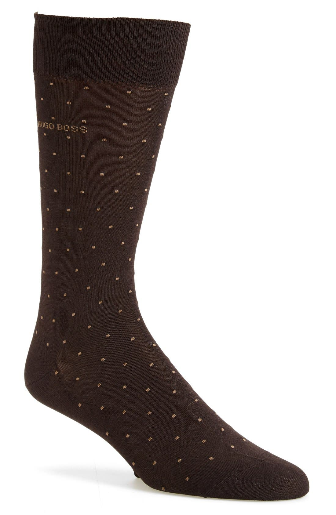 BOSS 'Frank' Dot Socks