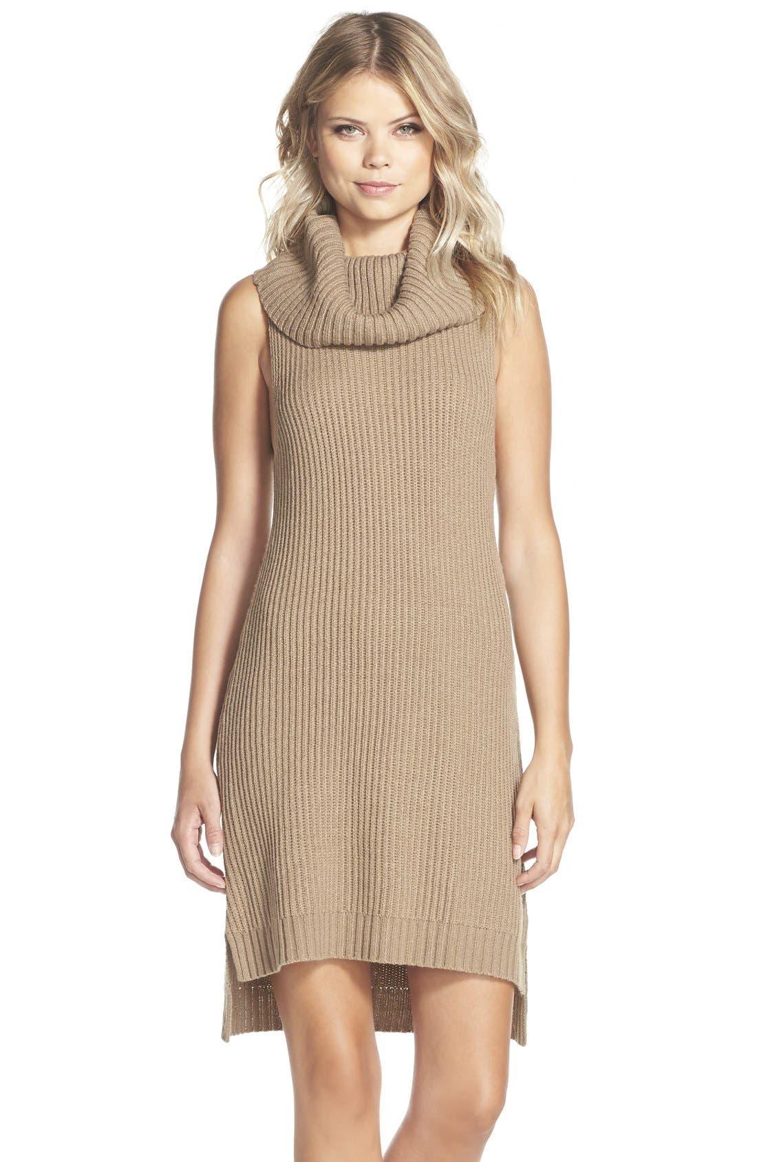 Main Image - BB Dakota 'Marisa' Turtleneck Sweater Dress
