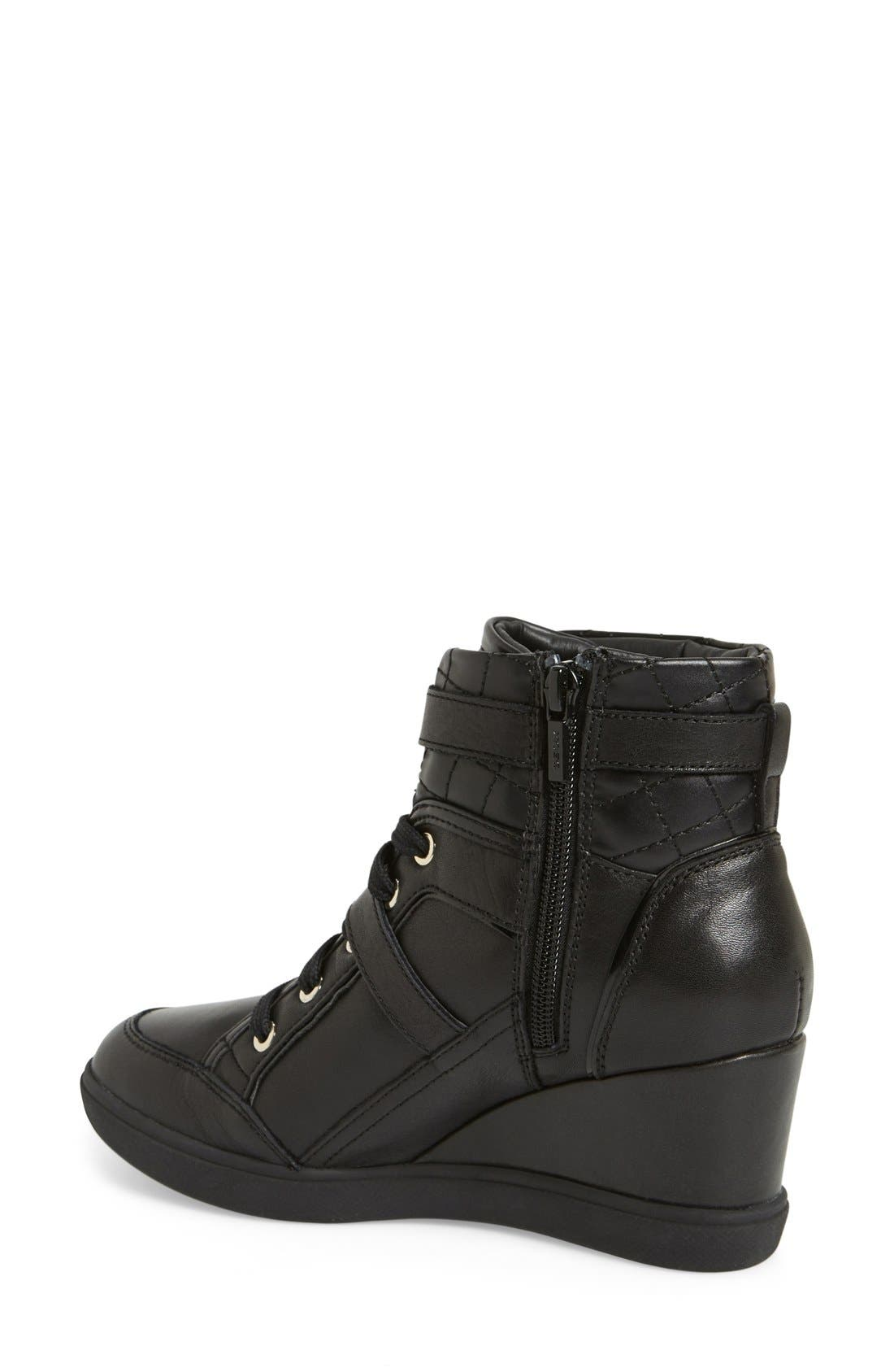 Alternate Image 2  - Geox 'Eleni' Wedge Sneaker (Women)
