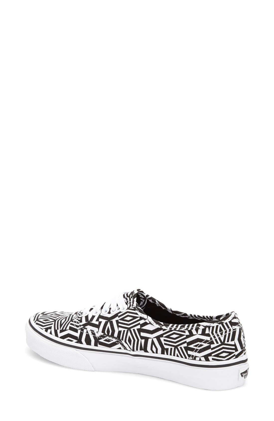 Alternate Image 2  - Vans 'Authentic Slim - Geo Realm' Sneaker (Women)