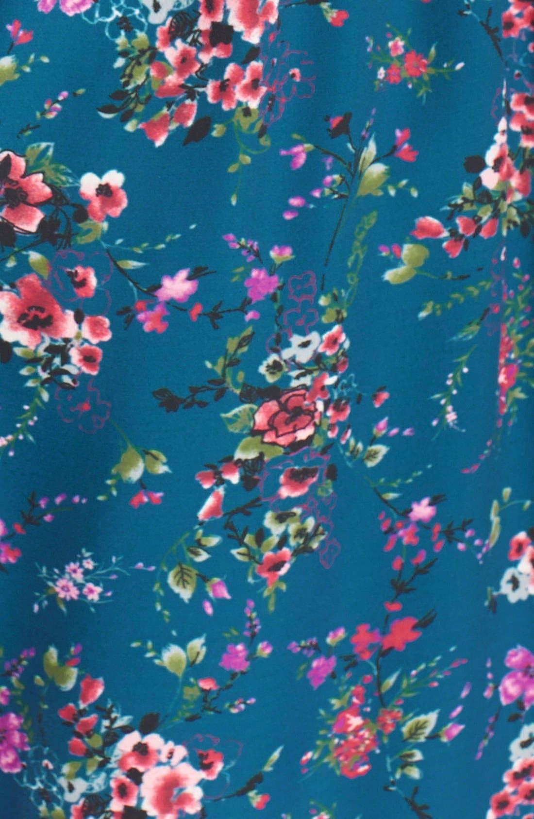 Alternate Image 3  - Band of Gypsies Floral Print Romper